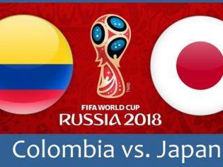 ワールドカップ2018日本vsコロンビア